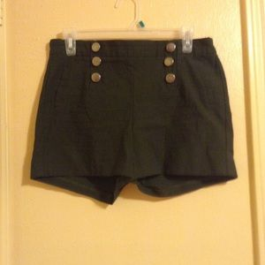 Olive green high waisted shorts like new